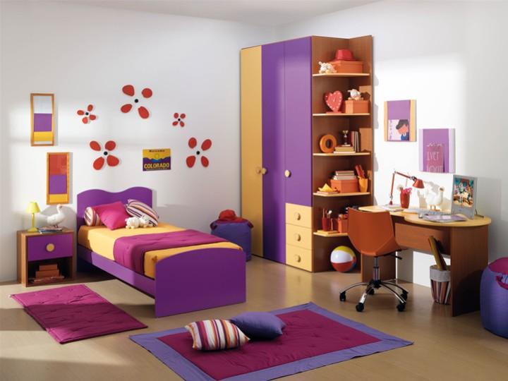Cameretta per bambini alexia mobili on line camerette - Dipingere cameretta bambino ...