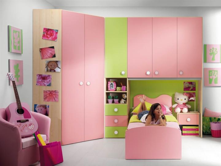 Camerette per bambini di hello kitty camere ragazze hello - Mobili per bambini divertenti ...