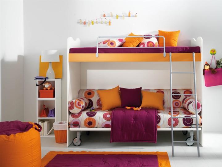 Camerette bambini piccoli spazi per bambini brio mobili - Camerette bambini piccoli spazi ...