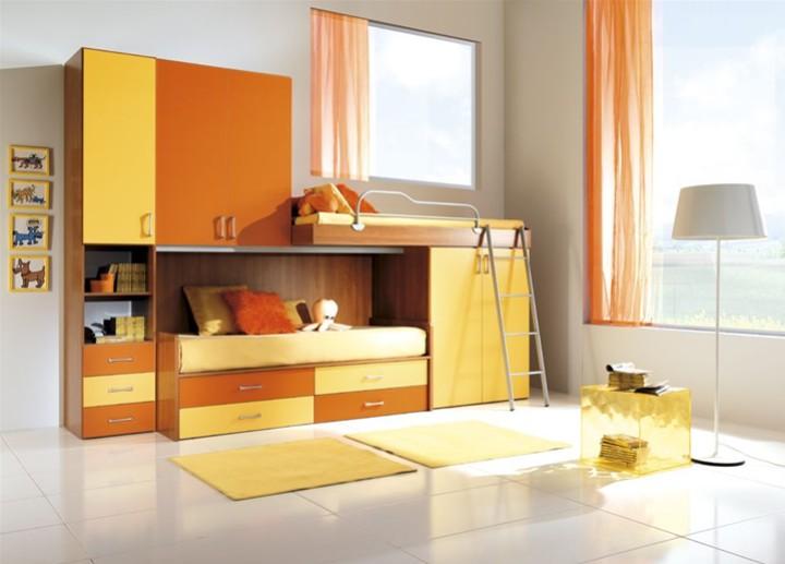 Cameretta per bambini carlotta mobili on line camerette for Arredamento per ragazzi