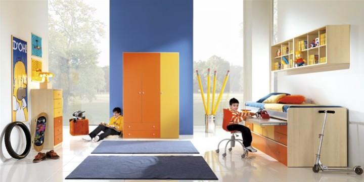 Cameretta per bambini coriolan mobili on line camerette per bambini camerette per ragazzi - Arredamento cameretta bambini ...