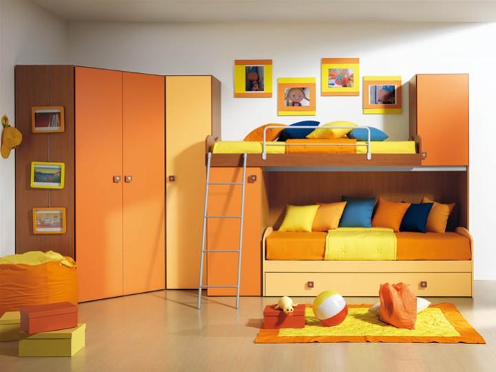 Cameretta per bambini cristy mobili on line camerette per bambini camerette per ragazzi - Arredamento cameretta bambini ...