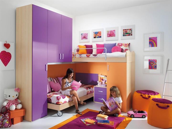 Camerette Per Neonati Rosa : Cameretta per bambini diana mobili on line camerette per bambini