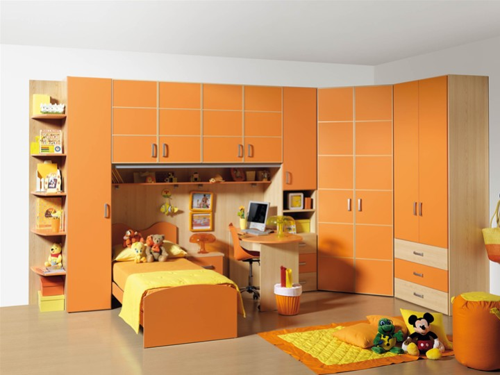 cameretta per bambini giada. mobili on line, camerette per bambini ... - Arredamento Bambini Online
