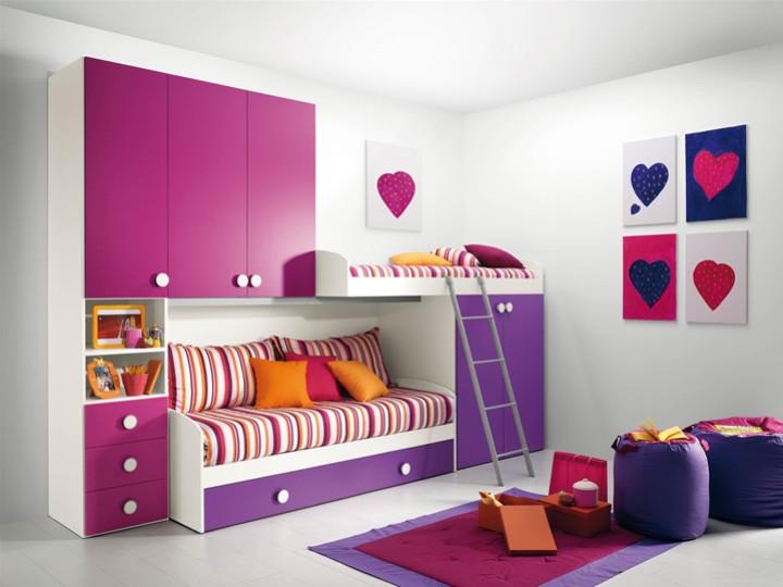 Cameretta per bambini ileana grande mobili on line for Decorazioni cameretta bambini