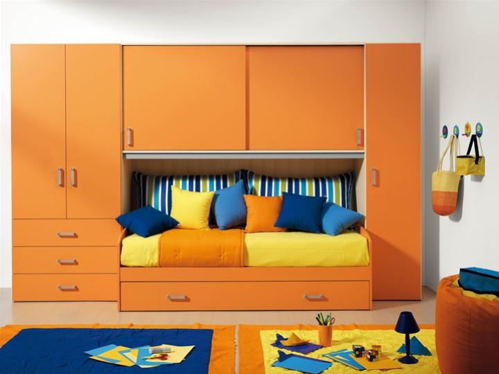 cameretta per bambini leonardo. mobili on line, camerette per ... - Arredamento Bambini Online