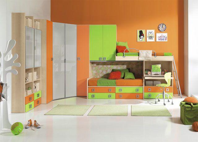 cameretta per bambini mattias . mobili on line, camerette per ... - Arredamento Bambini Online