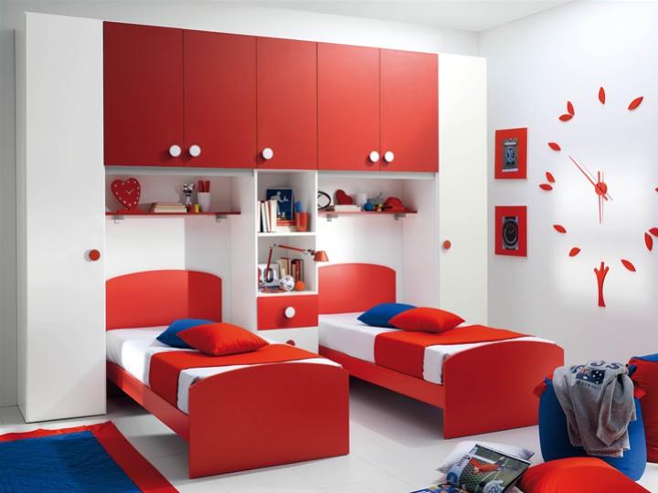 Cameretta per bambini saverio mobili on line camerette per bambini camerette per ragazzi - Camera da letto bambino ...