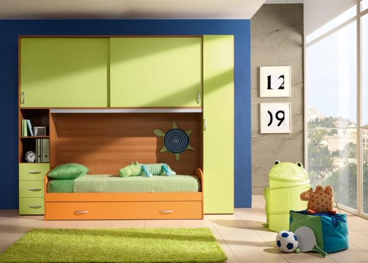 Camerette per bambini bergamo camera ragazza con cabina for Grittini arredamenti robecco sul naviglio