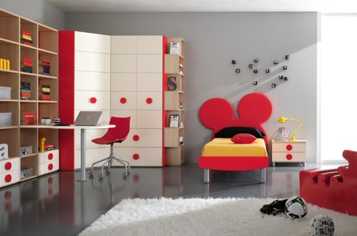 cameretta per bambini topolino . mobili on line, camerette per ... - Arredamento Bambini Online
