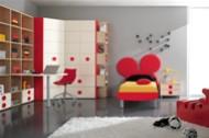 Cameretta per bambini topolino mobili on line camerette - Disposizione mobili cameretta ...