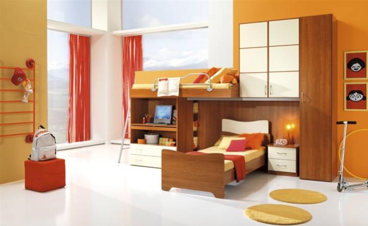 Cameretta per ragazzi rosis mobili on line camerette per for Arredamento per ragazzi