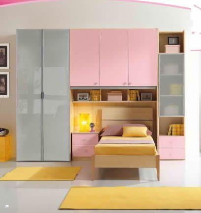 Cameretta per ragazzi silvy mobili on line camerette per for Arredamento casa biz
