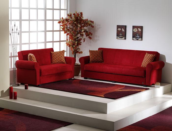 Divano colorato componibili idee per il design della casa - Prodotti per pulire il divano in tessuto ...