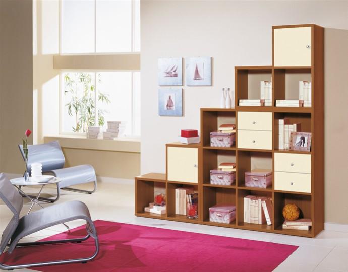 Libreria a muro mobili on line camerette per bambini camerette per ragazzi arredo outlet - Mobili per bambini design ...