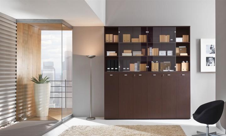 Libreria a Muro con scaffali e Cassetti . Mobili on line, camerette ...