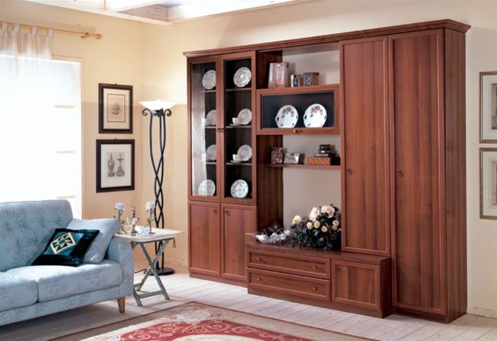 Parete soggiorno con vetrina e vasistas mobili on line camerette per bambini camerette per - Arredamento parete soggiorno ...