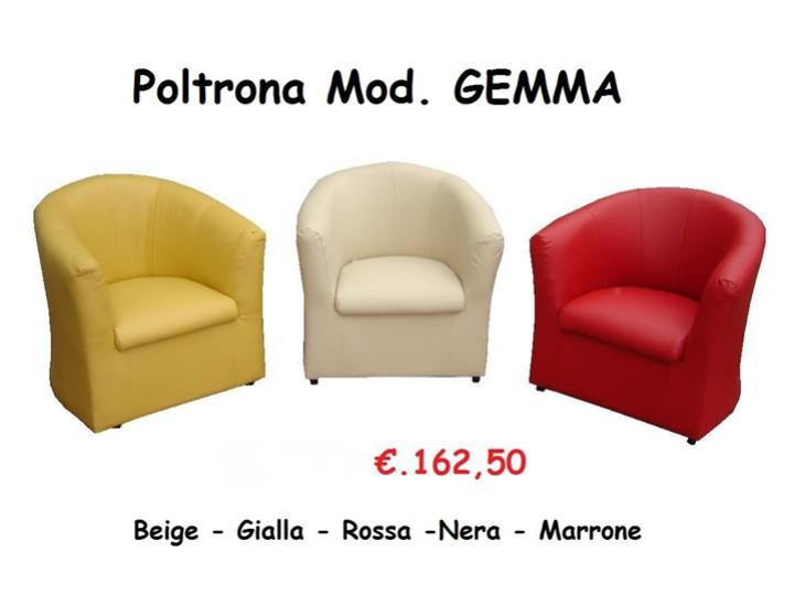 Poltrona ecopelle mobili on line camerette per bambini for Poltrona ecopelle