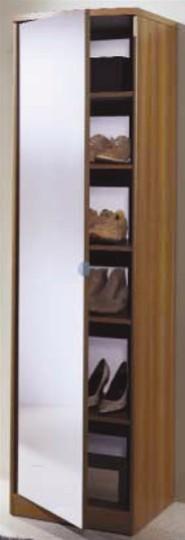 Scarpiera anta specchio mobili on line camerette per - Specchio adesivo per anta armadio ...
