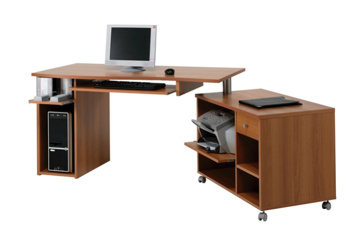 mobiletto in metallo angolare : Scrivania Porta Pc Computer Camera Porta Pc Con Struttura In Metallo