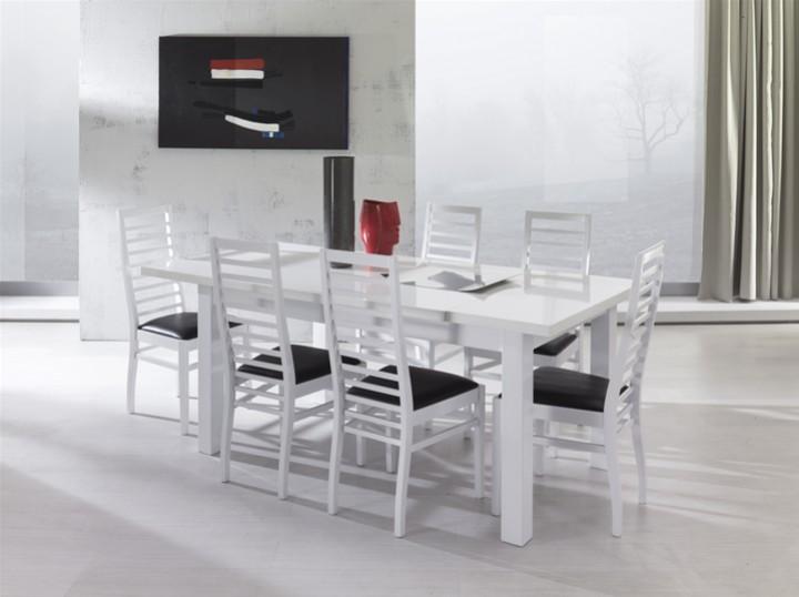 Tavolo laccato completo di 4 sedie mobili on line - Arredamento completo casa prezzi ...